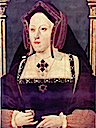 ca. 1525 Katherine of Aragon by ? (National Portrait Gallery London)