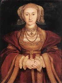 1539 Anne of Cleves by Hans Holbein the Younger (Musée du Louvre - Paris, France)