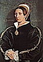 1540-1541 Unknown woman, possibly Elizabeth Seymour-Cromwell by Hans Holbein the Younger (Toledo Museum of Art, Ohio) also called Catherine Howard