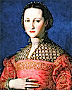 1543 Eleonora di Garzia di Toledo (1553–1576) wife of Don Pietro de' Medici by Angnolo Bronzino (National Gallery - Praha Czech Republic)
