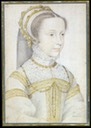 1552 or 1555 Mary Stuart as a girl by Francois Clouet (unknown location)