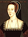 1553 Posthumous portrait of Anne Boleyn by ? (National Portrait Gallery London)