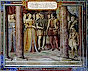 1553 Marriage of Diane de France to Orazio Farnese by Taddeo Zuccaro (location unknown to gogm)
