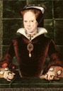 1554 Queen Mary by Hans Eworth (National Portrait Gallery London)