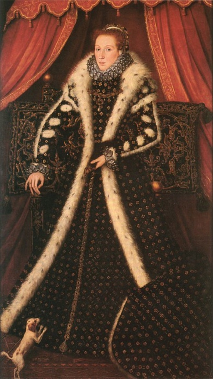 1570-1575 Frances Sidney, Countess of Sussex by Steven van der Meulen (University of Cambridge, Sidney Sussex College - Cambridge, Cambridgeshire, UK) renamed to correct misnaming original source not known