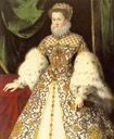 1573 Elisabeth of Austria, Queen of France by Jooris van der Straaten (Monasterio de las Descalzas Reales - Madrid, Spain)