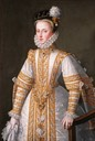 1571 Anne of Austria, Queen of Spain by Alonso Sánchez Coello (Museo Lázaro Galdiano - Madrid Spain)