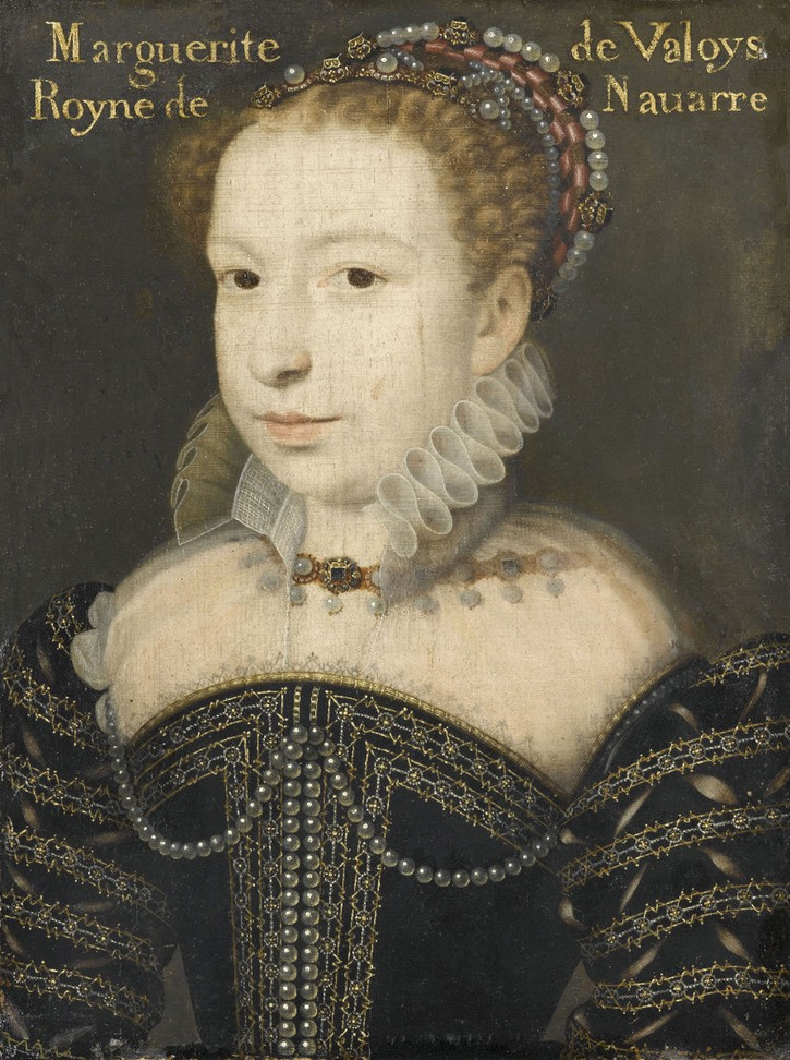 1572 Margot by François Clouet (Musée Condé - Chantilly, Picardie, France) From the lost gallery's photostream on flickr