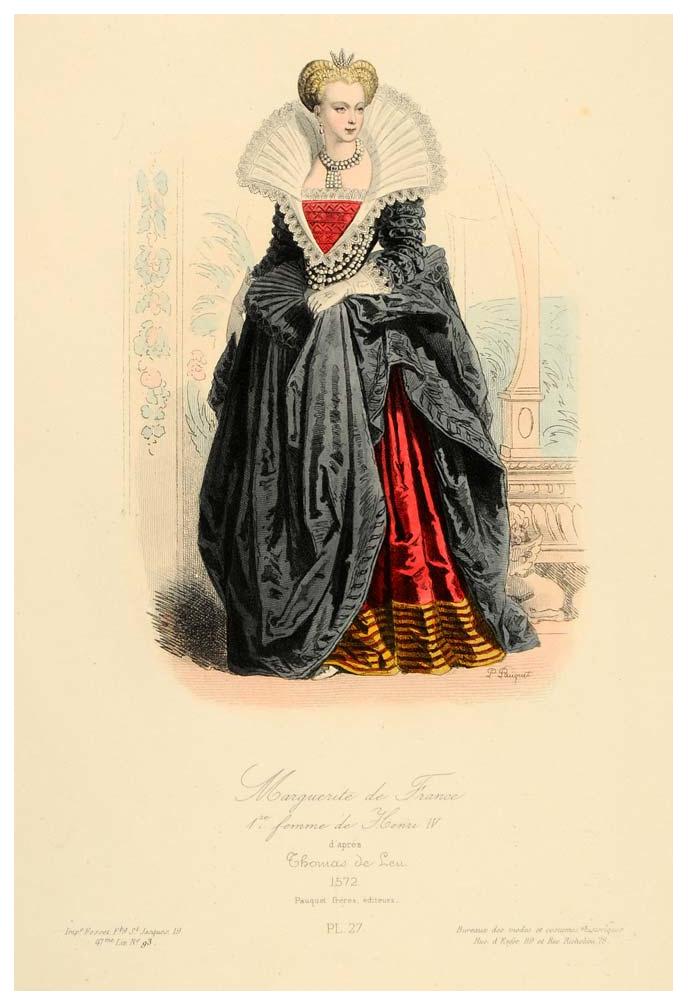 Marguerite De France 1st Wife Of Henri Iv 19th Century