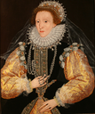 "1580s late ""Drewe"" portrait attributed to George Gower (Philip Mould)"