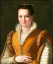 1580s Young girl or Bianca Capello de'Medici by Allesandro Allori (Moretti Fine Art)