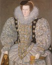 ca. 1595 Unknown lady attributed to William Segar (City of Kingston-upon-Hull Museum, UK)