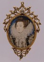 1597 Miniature of an Unknown Lady by Nicholas Hilliard (Metropolitan Museum)