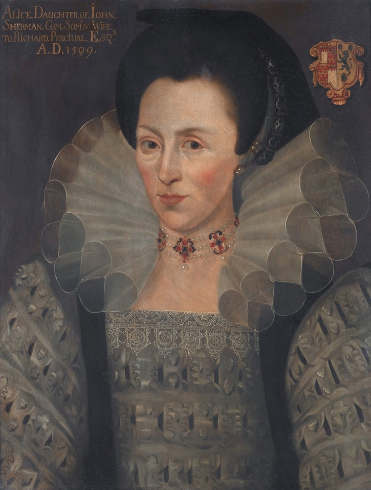 Alice, daughter of John Sherman of Ottery, St Mary, Devon, mannner of Marcus Gheeraerts the Younger