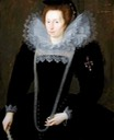 1599 Lady Margaret, Daughter of Sir William Dormer, Wife of Sir Henry Constable by Marcus Gheeraerts the Younger (Burton Constable Hall -Skirlaugh East Yorkshire UK)
