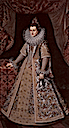 1605 Isabel Clara Eugenia of Austria by Frans Pourbus the Younger (Musées Royaux des Beaux-Arts, Bruxelles)
