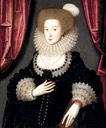 1610-1613 Mary Radclyffe by William Larkin (Denver Art Museum)
