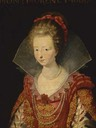 1610 Charlotte de Montmorency after Peter Paul Rubens (auctioned by Christie's)