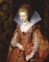 1610 Charlotte-Marguerite de Montmorency, Princess of Condé by Peter Paul Rubens (Frick Museum - Pittsburgh, Pennsylvania, USA) UPGRADE From pinterest.com:jkrystyna82:16th-17th-century-rebatos-standing-collars: