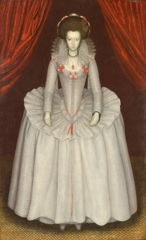 1610 Lady Catherine Smythe Scott by ?  (North Carolina Museum of Art - Raleigh, North Carolina, USA) From museum's Web site via pinterest.com:Hattie995:%7E-1600-1620-female-clothing-%7E: fixed upper half of right edge