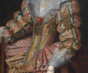 1610s Yolande de Ligne by ? (Weiss Gallery) jewels and lace