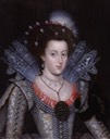 1613 Elizabeth Stuart portrait by ? (National Portrait Gallery, London)