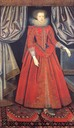 1615 Catherine Knevet (also spelled Knyvett), Countess of Suffolk by William Larkin (Kenwood House, London UK)