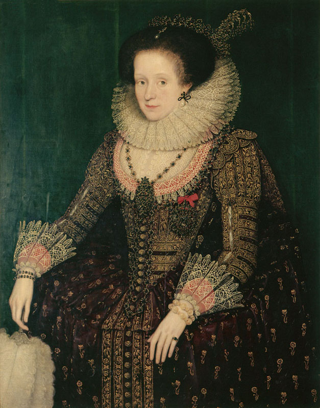 1615 Margaret Hay, Countess of Dunfermline by Marcus Gheeraerts (Dunedin Public Art Gallery - Dunedin, South Island New Zealand) From www.nzmuseums.co.nz:account:3243:object:34953:Margaret_Hay_Countess_of_Dunfermline#!prettyPhoto:0