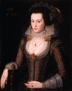 1616 Elizabeth Poulett by Robert Peake The Elder (Berger Collection, Denver Art Museum - Denver, Colorado, USA)