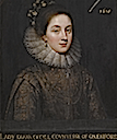 1618 Diana Cecil attributed to Paul van Somer (Sotheby's)