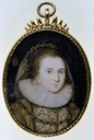 1620 Anne Clifford as Countess of Dorset attributed to Peter Oliver (St. Michael's Mount - Penzance, Cornwall UK)