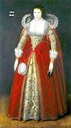 1620 Elizabeth Foulks of Mountnessing, Lady Style, by the English school (Weiss Gallery)