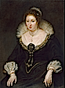 1620 Lady Alethea Talbot, Countess of Arundel by Peter Paul Rubens (Museu Nacional d'Art de Catalunya - Barcelona, Catalonia Spain)