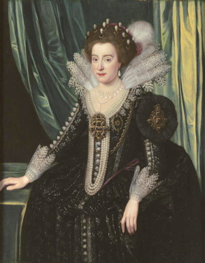 1620s (early) Elizabeth of Bohemia, the Winter Queen by Michiel Jansz. van Miereveldt (private collection) From magnoliabox.com shadows