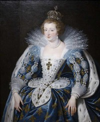 1622-1625 Anne d'Autriche by Peter Paul Rubens (Norton Simon Museum - Pasadena, California USA)