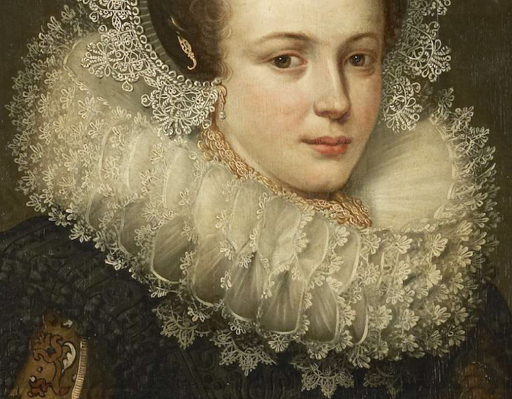 1623 Mertijntje of Ceters by ? (Rijksmuseum - Amsterdam, Holland) From museum's Web site despot shadows inc. exp ruff and headdress