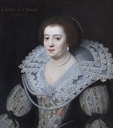 1626 Charlotte de la Trémoïlle, Countess of Derby (1599-1664) attributed to Michiel Jansz. van Miereveldt (Blickling Hall - Aylsham, Norfolk, UK) From nationaltrustcollections.org.uk/object/355477
