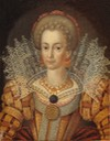 1610 Unknown woman, formerly known as Cecilia Vasa, 1540-1627, Princess of Sweden. by ? (Nationalmuseum - Stockholm or Gripsolm slott) Wm