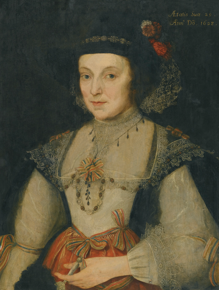 1629 Lady, said to be Lady Holderness (Martha Cockayne) by Marcus Gheeraerts the Younger (auctioned by Sotheby's) From the Sotherby's Web site despot deflaw
