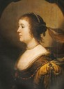1630s Amalia van Solms in orange by Gerrit van Honthorst (Historical Collections of the House of Oranje-Nassau)