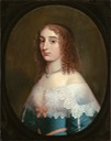 1630s Elizabeth, Princess Palatine by Gerrit van Honthorst studio (private collection)