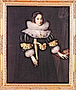 1631 Lady Anne Ruhout by Marcus Gheeraerts the Younger (Groeninge Museum, Bruges Belgium)