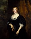 1633 Dorothy, Lady Dacre by Sir Anthonis van Dyck (Denver Museum of Art - Denver, Colorado USA)