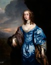 1635-1644 Lady Barrett de Newburgh, née Catherine Fenn by Sir Peter Lely (private collection) From infinitearttournament.com/2015/01/the-infinite-art-tournament-first.html