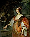 1637 Lucy Percy, Countess of Carlisle by Sir Anthonis van Dyck (Petworth House, Sussex, UK)