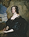 1638 Diana Cecil, Countess of Oxford, by Sir Anthonis van Dyck (Prado)