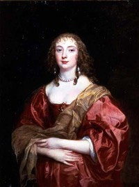 1639 Anne Carr, Countess of Bedford by Sir Anthonis van Dyck (Tokyo Fuji Art Museum)