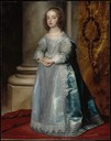 1641 Princess Mary Stuart, Daughter of Charles I by Sir Anthonis van Dyck
