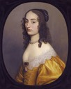 1642 Princess Louise Hollandine by Gerrit van Honthorst (auctioned by Sotheby's)