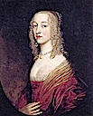 1642 Louise Hollandine, Princess Palatine, second daughter of Elizabeth of Bohemia, by Gerrit van Honthorst (Villa Schloss Ludwigshöhe - Edenkoben, Rheinland-Pfalz Germany)
